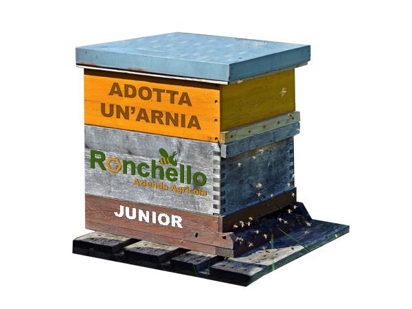 adotta un arnia junior miele ronchello