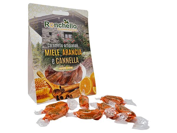caramelle miele cannella arancio propoli