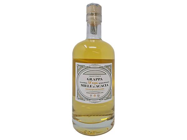 grappa barricata al miele di acacia liquore