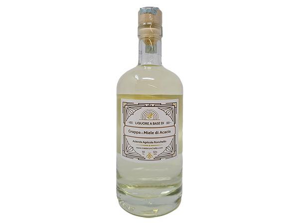 liquore grappa barricata al miele acacia
