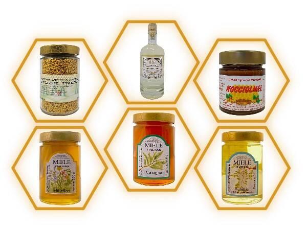 offerta miele online pacchetto gourmet spedizioni gratis