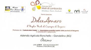 Premio Speciale Dolce Amaro 2019 Miele Castagno